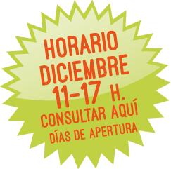 En diciembre de 11 a 17 h. Consultar aquí fechas