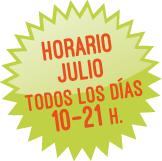 Horario Julio 2017