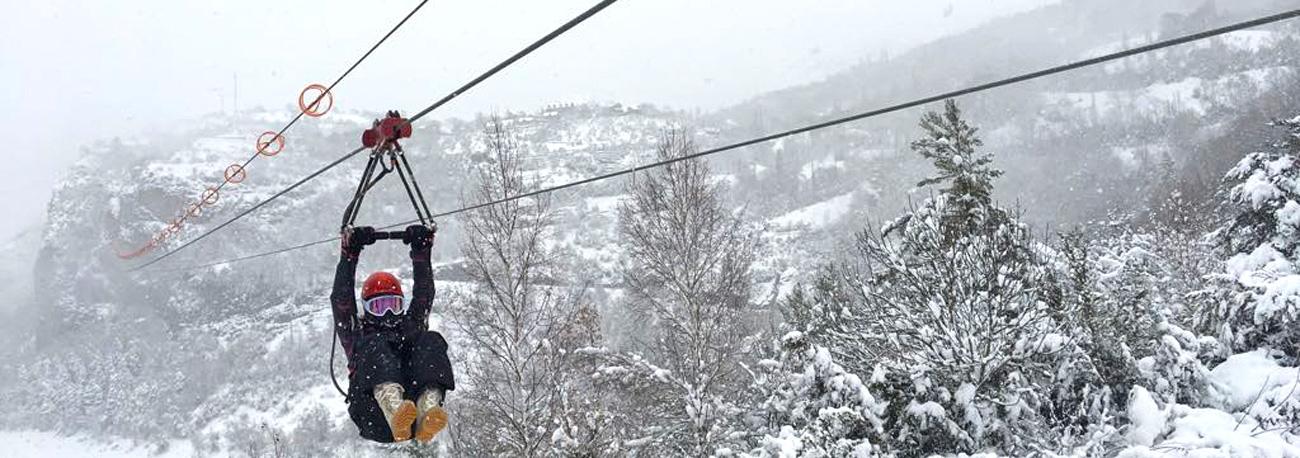 Nieve en el Valle de Tena