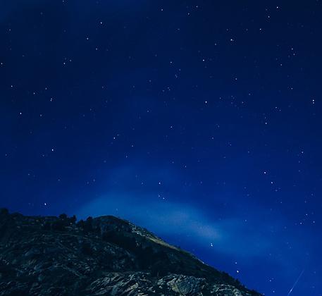 Salto nocturno: Luna llena