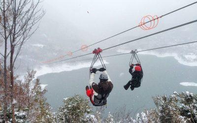 Tirolina cerrada hoy lunes 16 por climatología adversa