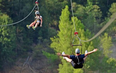Combate el estrés con la Tirolina del valle de Tena