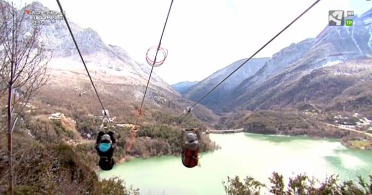 La Tirolina del Valle de Tena en Tempero de Aragón TV