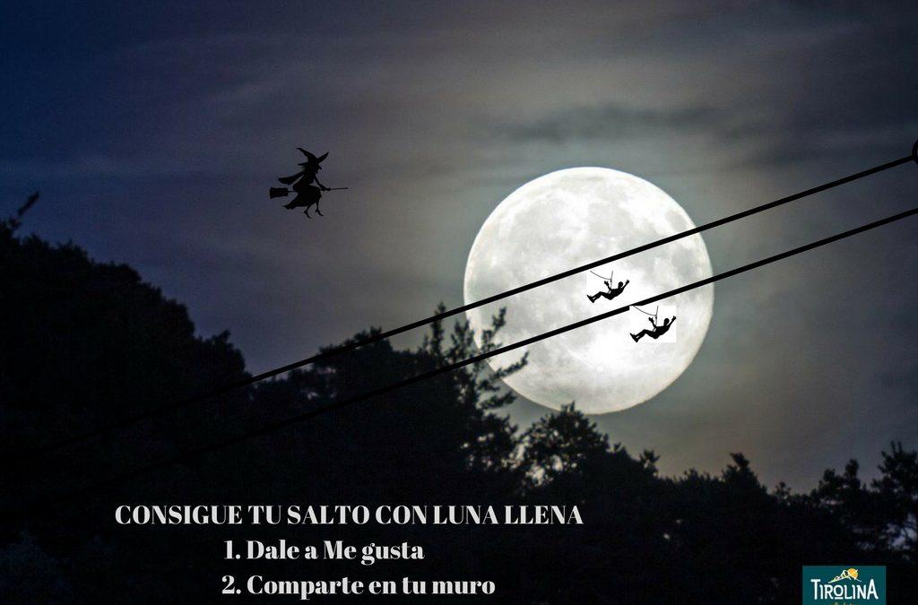 Disfruta de un salto embrujado bajo la luz de la luna