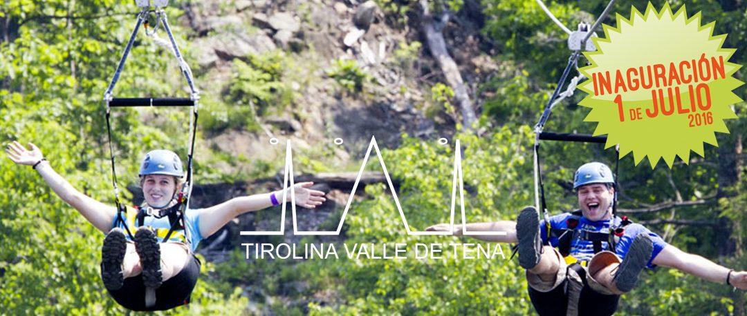 La Tirolina Valle de Tena es la tirolina doble más larga de Europa, ¡¡sobrevolando el lago a más de 120 m. de altura!!