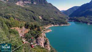 Tirolina Valle de Tena. La tirolina doble más larga de Europa. ¡¡También saltos nocturnos: luna llena y luna nueva!!
