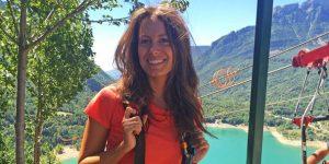 Descubre con Laura Madrueño (Cuatro TV) la tirolina doble más larga de Europa ¿quieres ver cómo fue su salto?