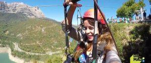 Be Mad y el campeonato internacional de Salto Base en la Tirolina del Valle de Tena