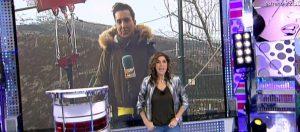 """El primero en atreverse con la tirolina doble más larga de Europa ha sido Omar Suárez, de Sálvame Tele5, pero muy pronto tendremos a los participantes en """"Sálvame Snow Week"""" en la tirolina de Hoz de Jaca."""