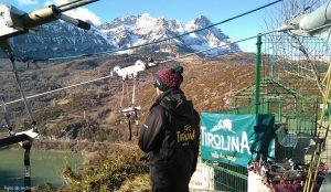 ¿Te vienes a saltar en la #tirolina doble más larga de Europa? En la #Tirolina del #ValledeTena estamos abiertos de 11 a 17 h. y esta noche, además, tenemos salto nocturno con #luna llena, ¡¡el primero de 2017!! ¡Lánzate ;-)!