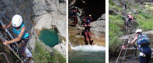 descubrir la vía ferrata de Santa Elena (o la opción del Barranco del Gorgol, con suplemento de 10 €)