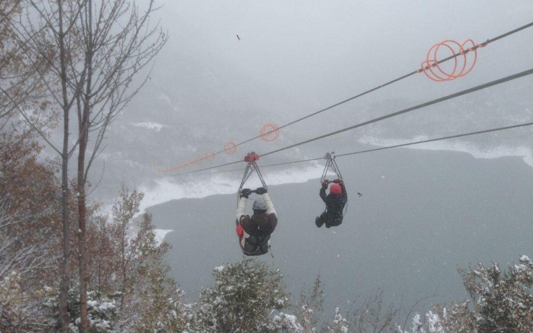 ¡Qué vuelve el frío! Y la Tirolina….