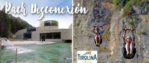 Pack Desconexión: Tirolina + Termas de Tiberio: