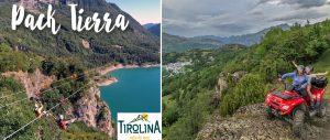 Tirolina + Quad:
