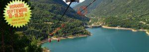 Horarios Tirolina Valle de Tena septiembre 2018